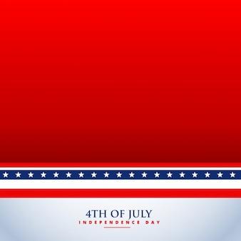 7 월 4 일 빨간색 배경