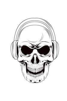 5. classic vintage skull vector