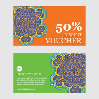 50% descount brochure design