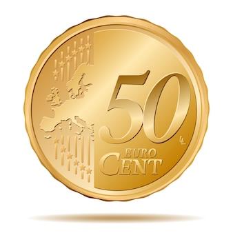 50ユーロセントコイン