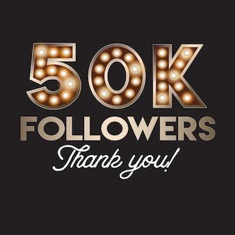 50k followers thank you banner