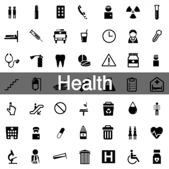 52 health icon pack