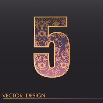 Декоративный фон 5