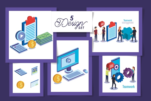 人と物とのチームワークの5つのデザイン