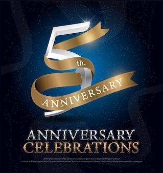 シルバーとゴールデン・リボンの5周年記念祝典