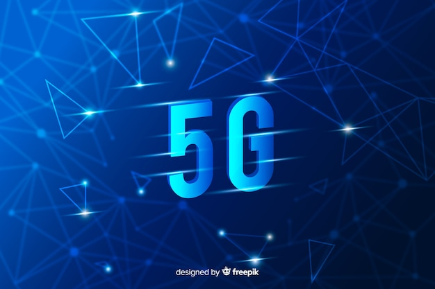 5g concept background