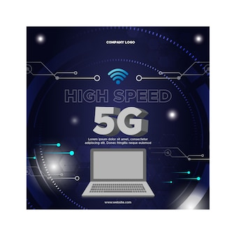 5g flyer square