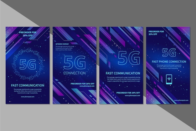 5g instagram stories collection