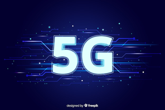 5g network concept background
