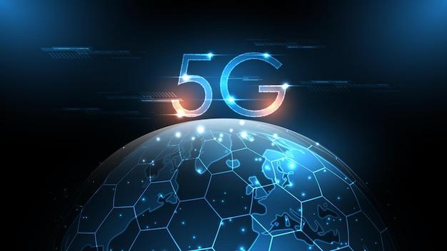 5g network wireless internet connecting, internet of things, communication network,high speed, broadband telecommunication