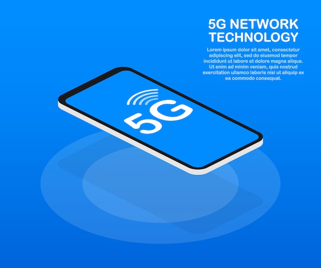 5g network wireless systems and internet. communication network. .