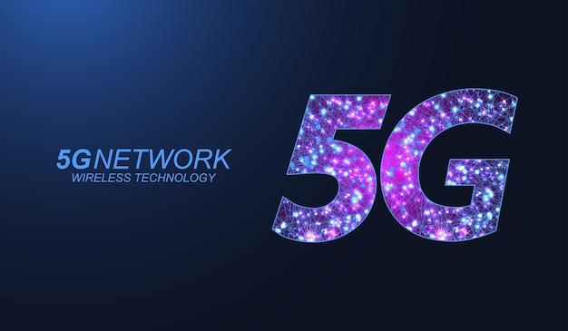 5g 네트워크 무선 기술 개념입니다. 비즈니스 및 기술, 신호, 속도, 네트워크, 빅 데이터, 기술, iot 및 트래픽 아이콘을 위한 5g 웹 배너 아이콘. 5g 기호 파 흐름 벡터입니다.