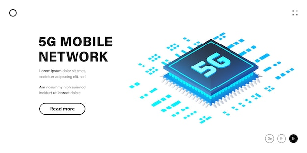 5g network wireless technology  mobile internet of next generation.