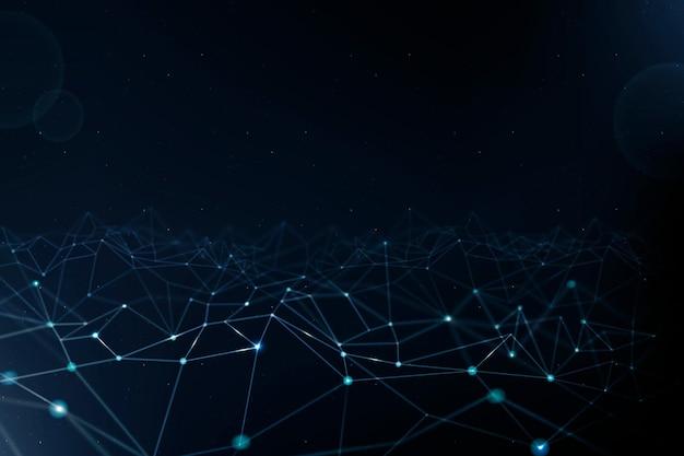 블루 디지털 라인 5g 네트워킹 기술 배경