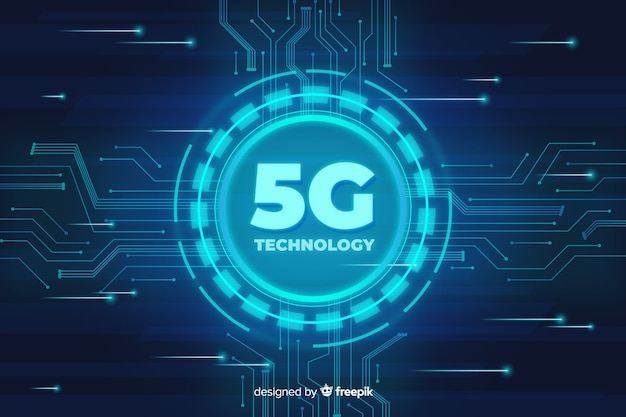 5g technological concept background