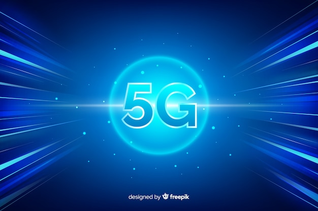 5g technology background