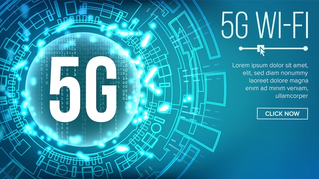 5g wi-fi banner