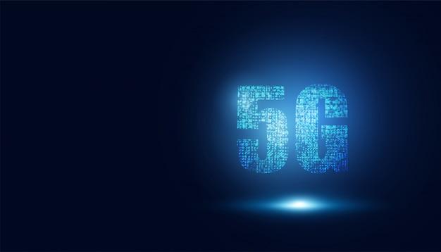 5g wireless internet technology concept background wifi communication