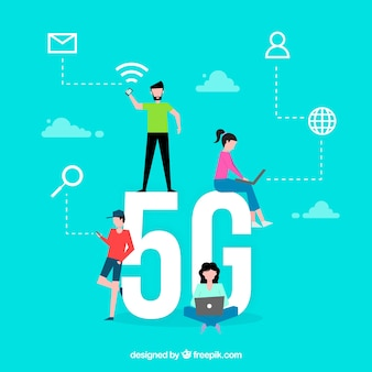 5g word concept