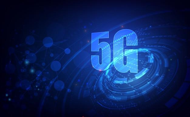 5g технология фон