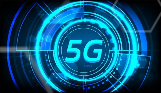5gの新しい無線インターネット接続の背景