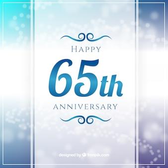 65th annyversary greeting
