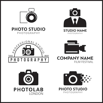 Векторные черные иконки для фотографов 6