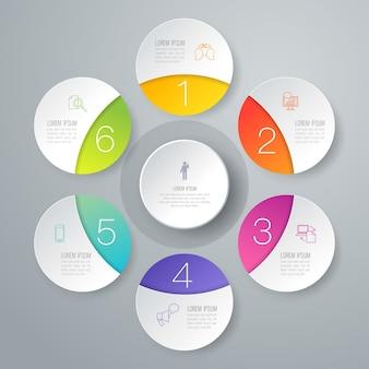プレゼンテーションのための6つのビジネスインフォグラフィック要素
