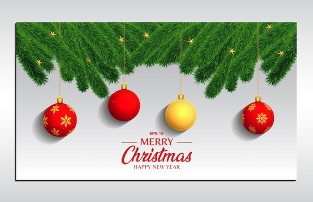 Рождественский бал фон 6 для целевой страницы, баннера, флаера и обложки