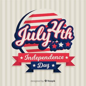 7月4日 - 独立記念日の背景