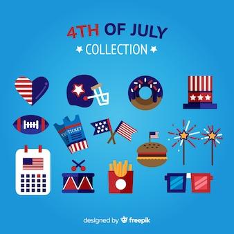 7月の要素コレクションの4番目