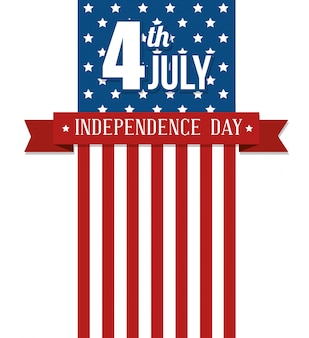 アメリカ合衆国ハッピー独立記念日、7月4日のお祝い
