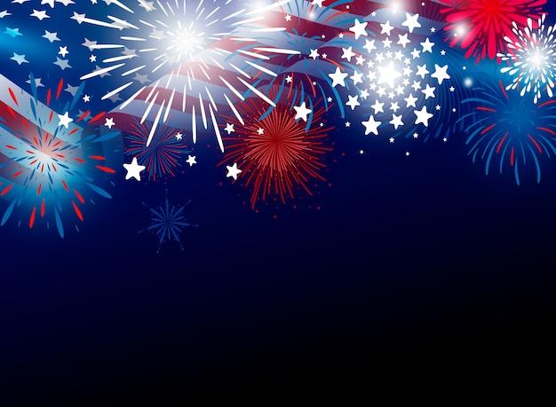 7月の独立記念日のアメリカ第4回