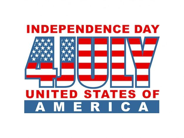 アメリカ独立記念日7月4日