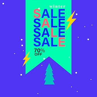 70% off sale badge