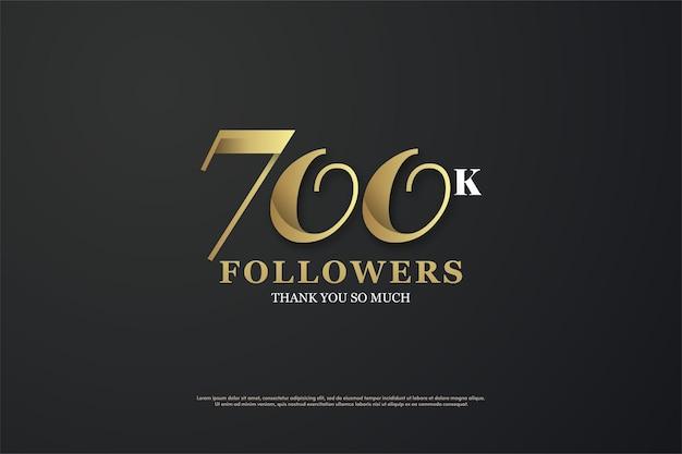 700 тысяч фоновых подписчиков с уникальными плоскими номерами