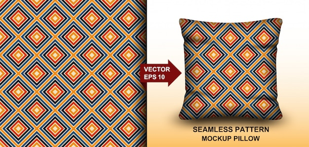 Аннотация . красочный фоновый узор бесшовные ретро 70-х годов. дизайн для подушки, принт, мода, одежда, ткань, подарочная упаковка. шаблон подушки шаблон бесшовные модели.