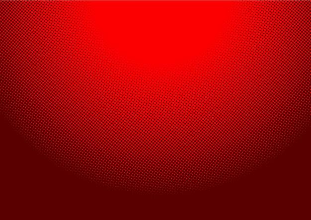 赤い背景のハーフトーンスクリーン76