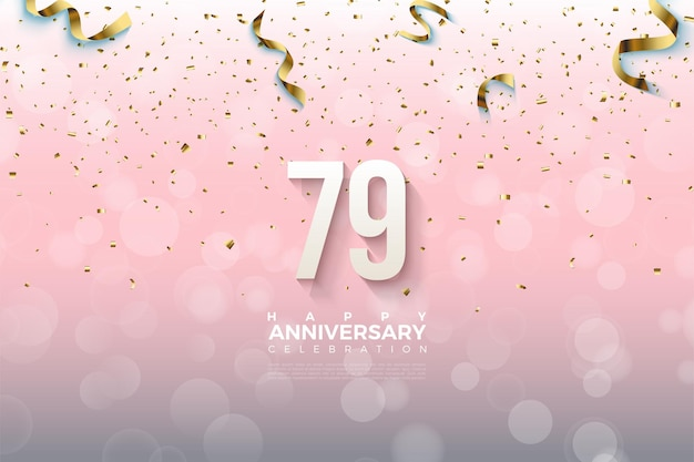 79th anniversary background