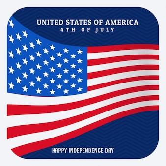 7月の独立記念日のアメリカの第四