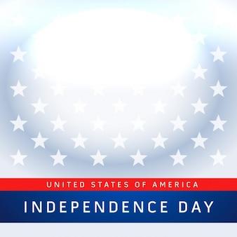 7月独立記念日の背景のアメリカの第四