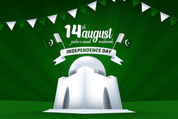 8月14日jashn e azadi mubarakパキスタン独立記念日