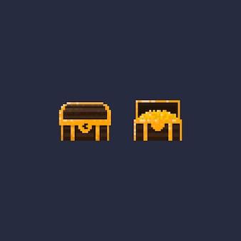 8ビットピクセルの宝箱