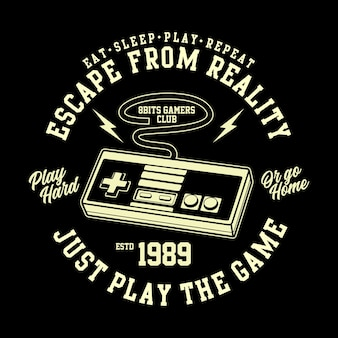 Футболка 8 bits retro gamers