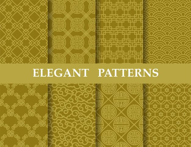 8 chinese patterns