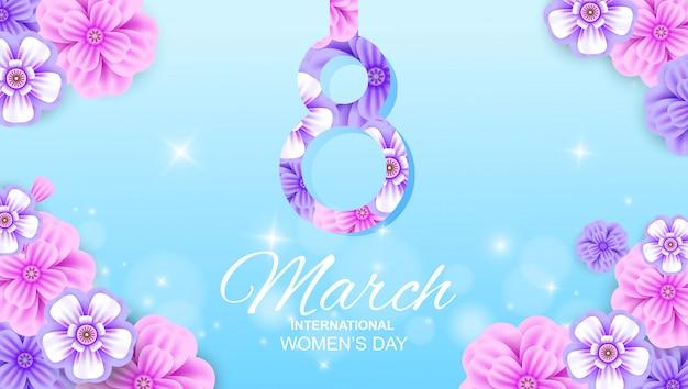 8 march banner