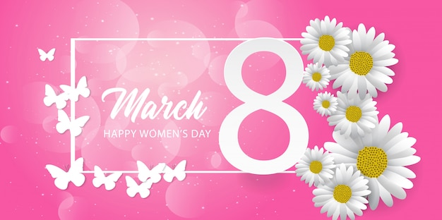 8 march. happy women's day