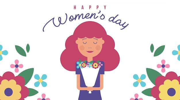 8 марта женский день открытка