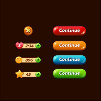 80ゲームアイコンボタン
