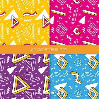 80年代風のパターン集